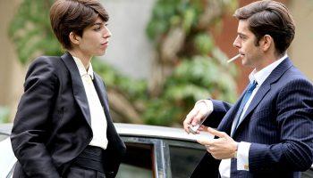 --EXCLUSIF-- LOU DOILLON & EDOUARDO NORIEGA - TOURNAGE DU FILM ' GIGOLA ' - SEQUENCE 76